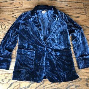 Jackets & Blazers - Kachel Anthropologie velvet blazer